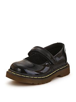 Dr Martens Tully Patent Younger Girls Mary Jane