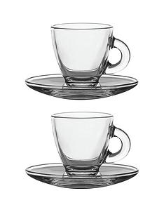 ravenhead-entertain-glass-espresso-cup-and-saucer-set