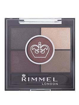 Rimmel 5 Pan Hd Eyeshadow  Brixton Brown