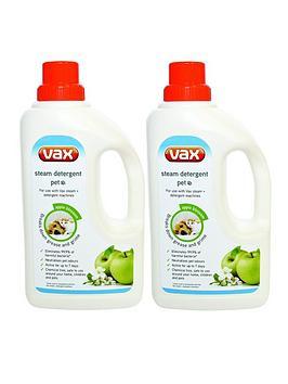 Vax Steam Detergent Pet Twin Pack