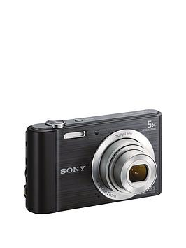 Sony W800 CyberShot 20.1 Megapixel Digital Camera  Black