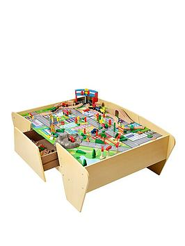 plum-train-and-track-wooden-activity-table