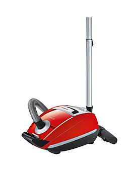 Bosch Bsgl5Pt2Gb Power Animal Bagged Cylinder Vacuum Cleaner  Red