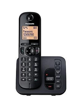 panasonic-kx-tgc220eb-cordless-telephone-with-answering-machine-and-nuisance-call-block-single