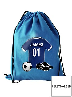 personalised-football-swim-bag