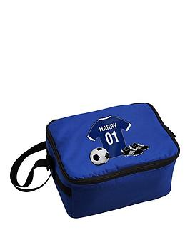 Very Personalised Football Lunch Bag Picture