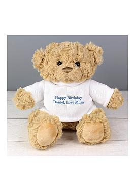 Very  Personalised Message Teddy