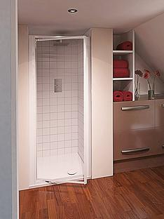 aqualux-aqua-4-76-cm-pivot-shower-door-clear