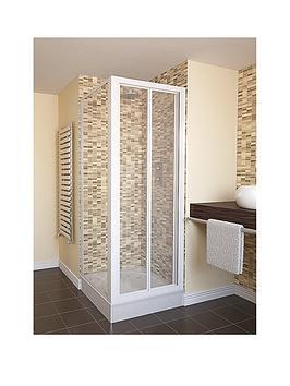 aqualux-aqua-4-white-bi-fold-shower-door-in-a-choice-of-3-widthsnbsp--clear