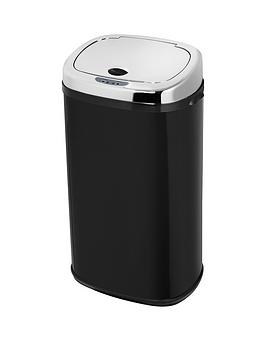 morphy-richards-42-litre-square-sensor-bin-black