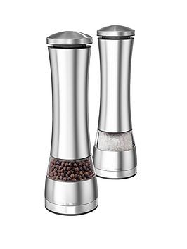 morphy-richards-electronic-salt-and-pepper-mill-set-stainless-steel