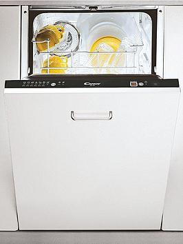 Candy Cdi4545E 9Place Slimline Integrated Dishwasher