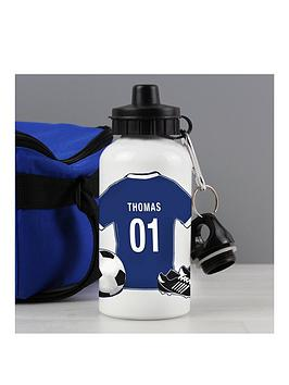 Very Personalised Football Drinks Bottle Picture