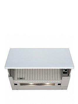Zanussi ZHI611G 60cm Builtin Cooker Hood  Grey