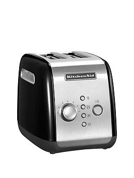 KitchenAid  Kitchenaid 5Kmt221Bob 2 Slot Toaster - Black