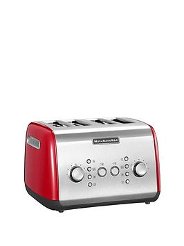 kitchenaid-5kmt421ber-4-slot-toaster-red