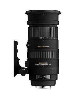 sigma-150-500-mm-f5-63-apo-dg-os-hsm-stabilised-nikon-fit-lens-black
