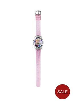 disney-frozen-pink-glitter-strap-watch
