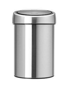brabantia-touch-bin-3-litre-matt-steel