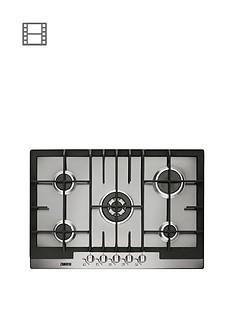 zanussi-zgg76524xa-75cm-built-in-gas-hob-stainless-steel