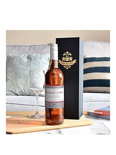 personalised-rose-wine