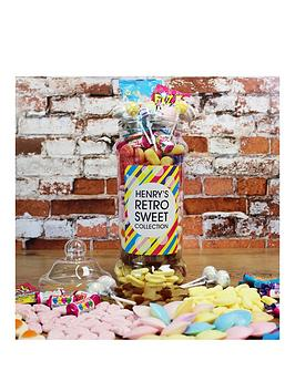 Very Personalised Retro Sweet Jar 1Kg Picture