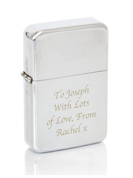 the-personalised-memento-company-personalised-silver-windproof-lighter