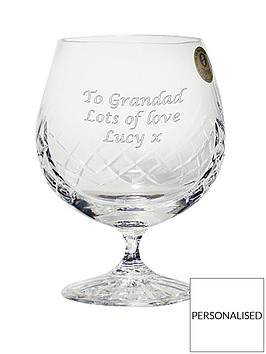 personalised-crystal-brandy-glass