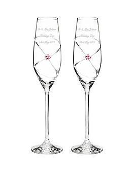 personalised-infinity-diamante-champagne-flutes-with-swarovski-elements