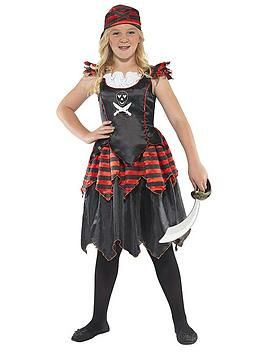 Very Skull And Crossbones Pirate - Childs Costume