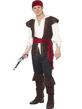 Swashbuckler Pirate Man - Adult Costume
