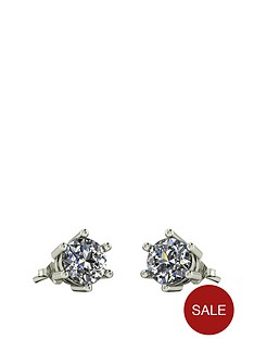 moissanite-9-carat-white-gold-1-carat-stud-earrings