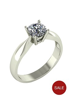 moissanite-9-carat-white-gold-75-point-solitaire-ring