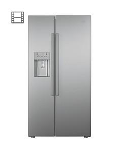 beko-asn541s-usa-style-frost-free-fridge-freezer-silver