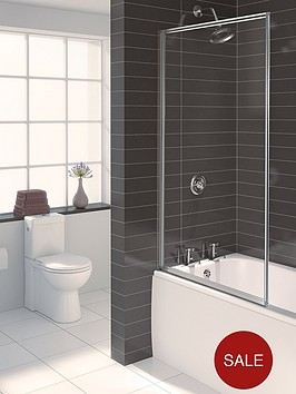 aqualux-aqua-3-framed-bath-screen