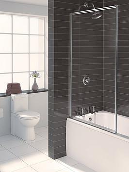 Aqualux Aqualux Aqua 3 Framed Bath / Shower Screen Picture
