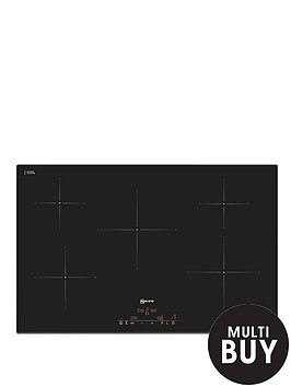 neff-t41d82x2-80cm-built-in-induction-hob-black