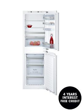 neff-ki7853d30g-60cmnbspbuilt-in-no-frost-fridge-freezer-with-freshsensenbsp--white