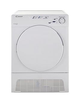 Candy Gcc590Nb 9Kg Sensor Condensor Tumble Dryer  White