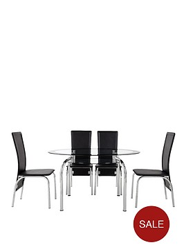 varezze-130cm-glass-dining-table-4-chairs