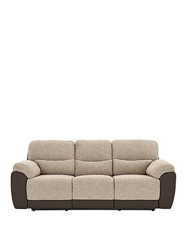 Very Santori 3-Seater Recliner Sofa Picture