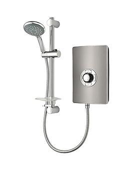 Triton Gun Metal Effect 8.5Kw Electric Shower