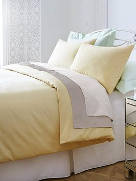 Non Iron Percale 180 Thread Count Extra Deep Fitted Bed Sheet |  Littlewoods.com