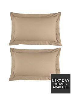 non-iron-percale-180-thread-count-oxford-pillowcases-pair