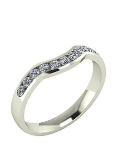 moissanite-9-carat-gold-33pt-channel-set-shaped-wedding-ring