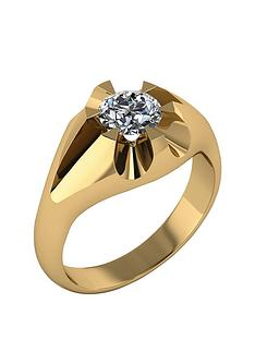 moissanite-9-carat-gold-mens-ring