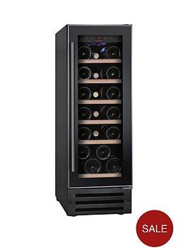 baumatic-bwc305ss-19-bottle-built-in-wine-cooler-black