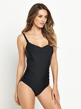 panache-anya-balconnet-swimsuit-black
