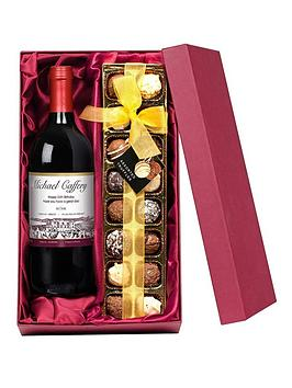 personalised-wine-and-chocolates