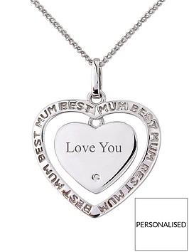 keepsafe-sterling-silver-cubic-zirconia-mum-personalised-pendant